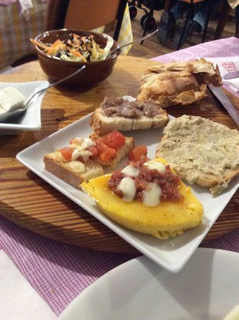 Agriturismo Moretti: antipasto delicioso