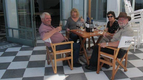 Itours, Santiago Wine Tour, Vina del Mar & Valparaiso: Sharing good wine with friends