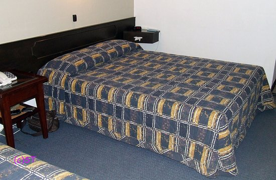 West Coaster Motel: Double bed