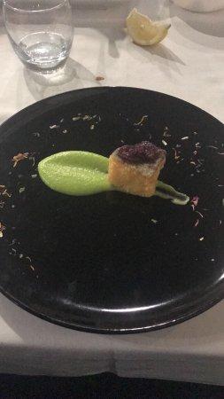Floridia, Italië: Un piatto così dolce ma salato nello stesso tempo non l'avevo mai mangiato. Semplicemente sublim