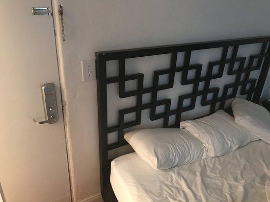 South Beach Villas: So noisy because you sleep your head next to the door