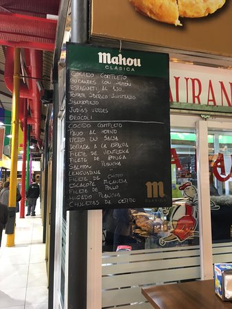 Cafeteria Restaurante Casa Dani : Menú del día