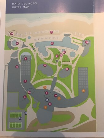 Map Of Live Aqua Since They Are Not In Hotel Site