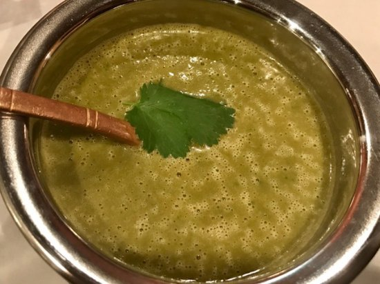 Sandy, UT : Spinach soup