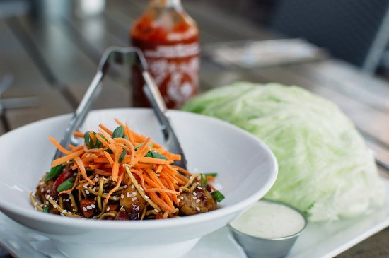 Langley City, Canada: Lettuce Wraps