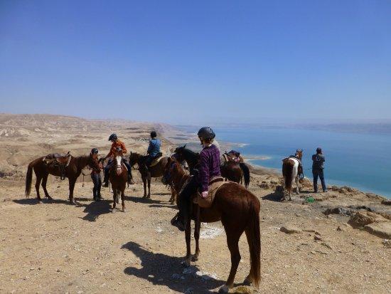 Amirim, Israël: Over the Dead Sea