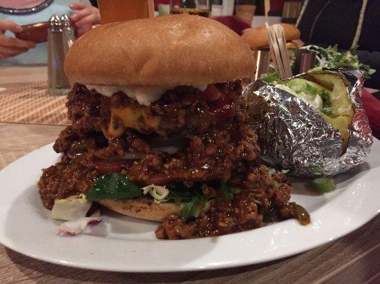 """Ландштуль, Германия: Texaner, Folienkartoffel_large.jpg"""""""
