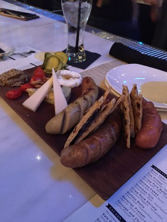 Tangled Roots Lone Buffalo Best Sausage Cheese Board Ever
