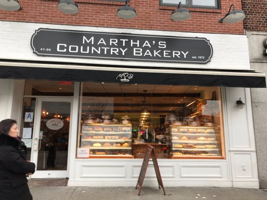 Martha's Country Bakery in Bayside, Queens, New York City