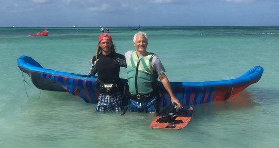 Malmok Beach, Aruba: Just finished a fantastic session with Adam! Thanks Adam!!