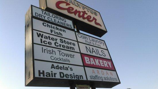 Bellflower, Californië: Street sign