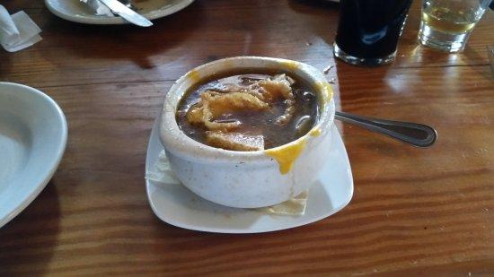 Timonium, MD : Irish onion soup