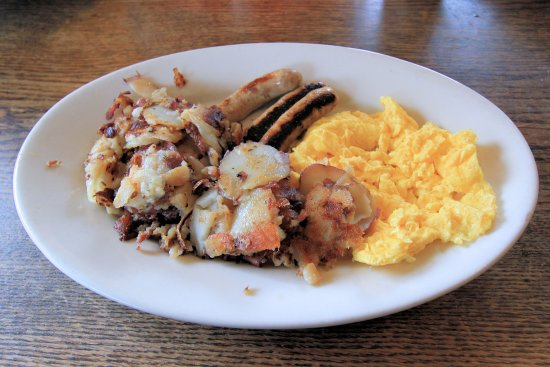 La Conner, WA: Calico Cupboard - Fisherman's Breakfast - February 2017