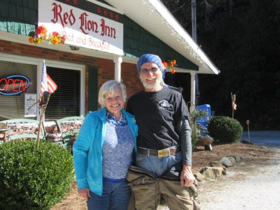 Rosman, NC: Very pretty owner ! Fun to speak to .