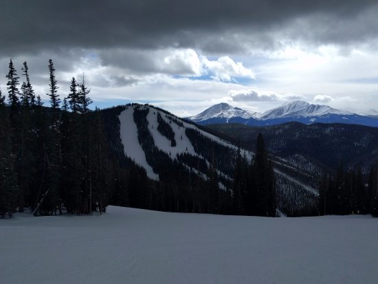 Beautiful views from the back peaks at Keystone