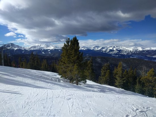 Keystone, CO: Beautiful view of Breck in the distance