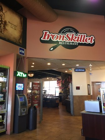 Deming, Nuevo Mexico: Iron Skillet Restaurant