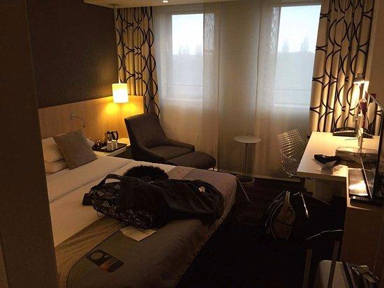 Mercure Hotel Amsterdam City: Jai jamais dormis dans un aussi bon lit et geant !