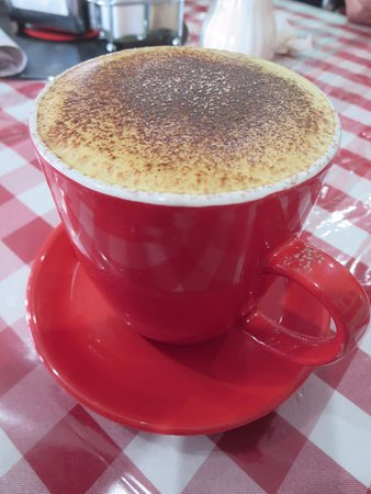 Normanville, Australia: Great cuppuccino!