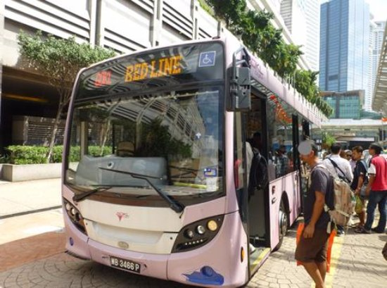 Red Line Picture of GO KL City Bus Kuala Lumpur