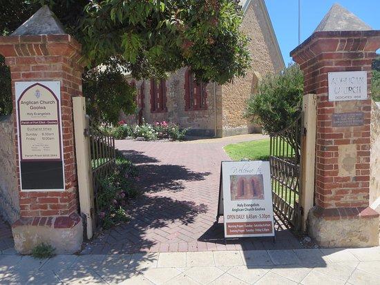 Goolwa, Australien: Front entrance
