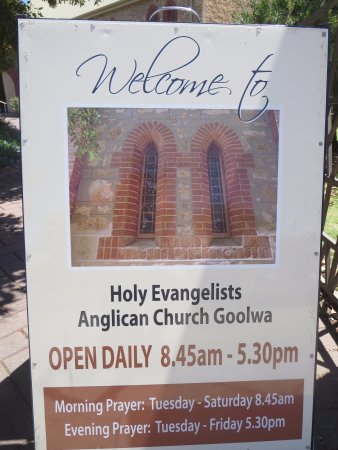Goolwa, Australia: Welcome signboard