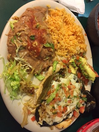 Temple, TX: Chicken Poblano Plate