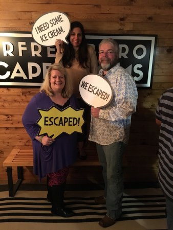Murfreesboro, TN: We escaped and had a blast