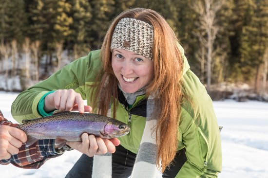 Sun Peaks, Canada: Wild Rainbow Trout