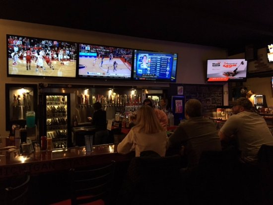 Hilliard, OH: The bar from our seats