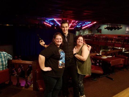Kissimmee, FL: Our waiter, Stretch!