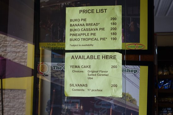 The Original Buko Pie Bakeshop Silang Sta Rosa
