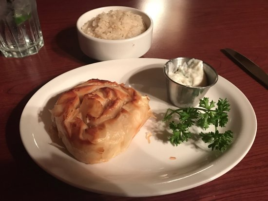 Ladysmith, Canada: Absolutely to die for Greek cheese pie in phyllo