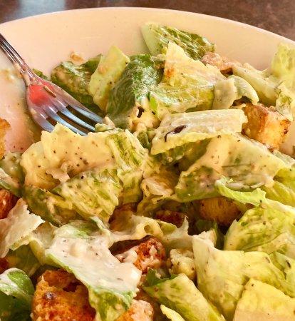 La Quinta, CA: caesar salad