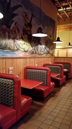 Stevensville, Монтана: eating booths