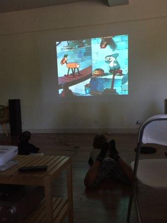 Toorak, أستراليا: Christmas movie - Donald Duck