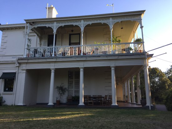 Toorak, Australien: The Swedish House built in 1849.