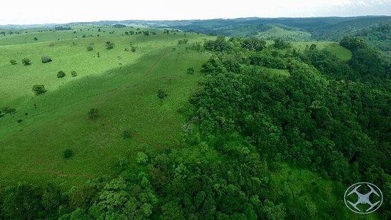 Sen Monorom, Καμπότζη: Sanctuary forests air view.