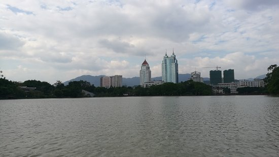 Fuzhou, Cina: View from the boat