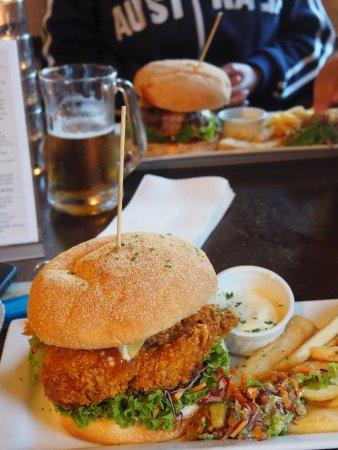 Rangiora, Новая Зеландия: les burgers
