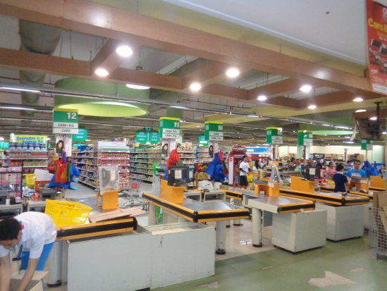 Gaisano Grand Mall Mactan: Supermarket