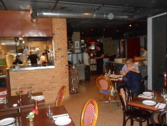 Fiasco Ristorante + Bar: service area view and adjacent tables