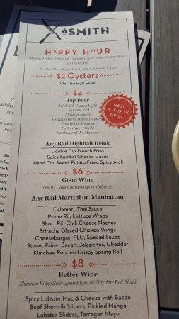 Wayzata, MN: Happy Hour menu