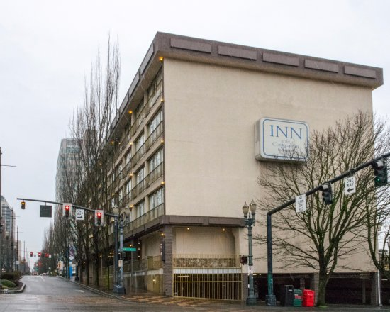 Inn at the Convention Center in the PDX Overcast