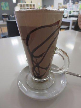 Cafe La Vie: Hot chocolate