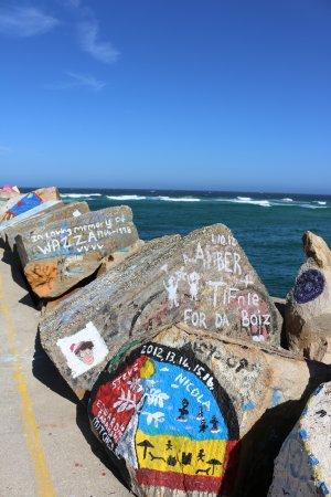 Nambucca Heads, Australia: V wall