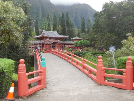 Kaneohe, Hawaï: Bridge to the Temple