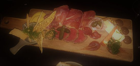 Latin Loafer: meat & cheese board