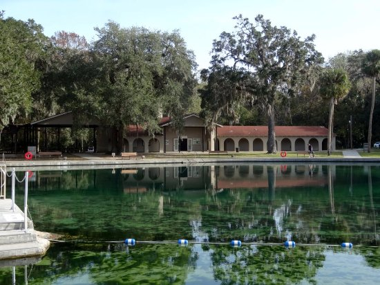 De Leon Springs, FL: Spring Pool