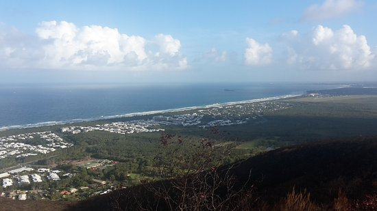 Coolum Beach, Australia: View at the top of Mt Coolum